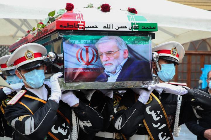 In Iran wordt gerouwd om Fakhrizadeh