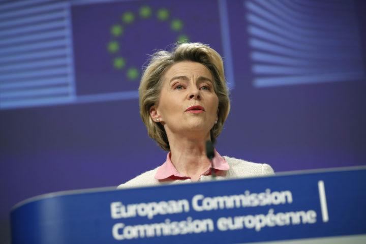 Ursula von der Leyen, voorzitter van de Europese Commissie