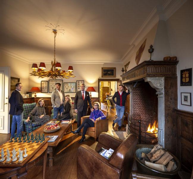 Familie Slager in Huis Molecaten. Foto: Thijs Wolzak