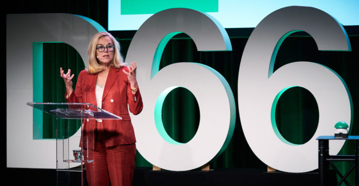 Sigrid Kaag wil premier worden namens D66