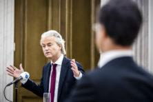 Eerste grote lijsttrekkersdebat: Rutte verdedigend, Wilders op dreef