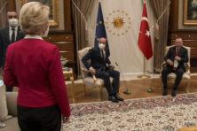 Erdogan krijgt EU-miljarden en vernedert Michel en Von der Leyen
