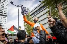 Antisemitische leuzen en kalifaatvlaggen bij pro-Palestina demonstraties
