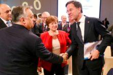 Rutte kan blaffen over Europese waarden, maar EU draait om waren