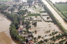 De eerste les van de overstromingen is er al