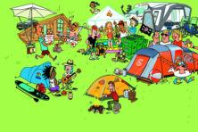 De opvallendste typen kampeerders in beeld