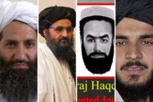 Dit zijn de vier belangrijkste leiders van de Taliban