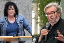 Maarten van Rossem is bang voor Caroline van der Plas
