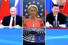 Europeaan wil geen 'koude oorlog' met China en Rusland