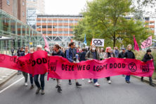 Extinction Rebellion begonnen aan week van blokkades in Den Haag