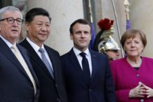 What is the EU's approach to the U.S.-China rivalry?